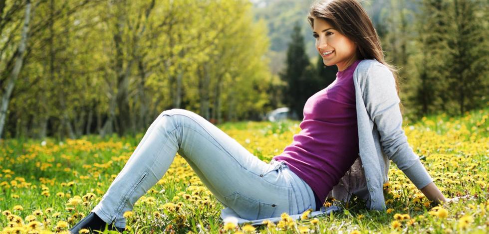 Правильно подобранные джинсы отлично смотрятся