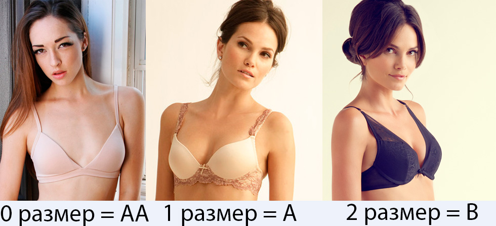 Как выглядит нулевой размер груди фото 528-967